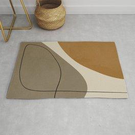 Organic Abstract Shapes #3 Rug