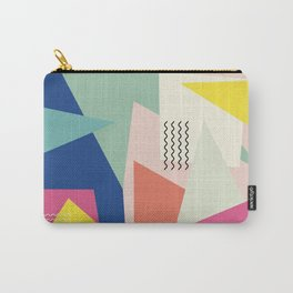 Shapes and Waves Carry-All Pouch