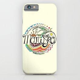 Mariska Hargitay iPhone Case