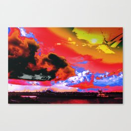 Boat's Requiem Canvas Print