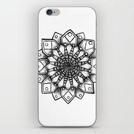 Spiral Mandala iPhone Skin
