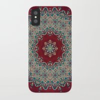 blood iPhone & iPod Cases featuring Mandala Nada Brahma  by Elias Zacarias