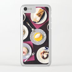 dessert table Clear iPhone Case