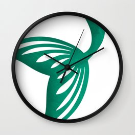 Mermaid at the sea Wall Clock