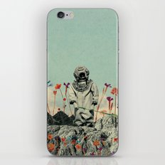 Lonely Diver iPhone & iPod Skin