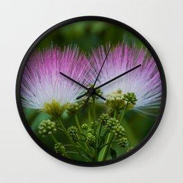 Mimosa Tree Wall Clock