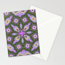 Candy mint pattern Stationery Cards