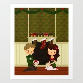 Christmas in June Art Print