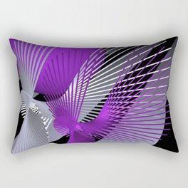 pink or violet -10- Rectangular Pillow