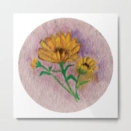 Flor I (Flower I) Metal Print