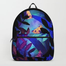 Magic Mushrooms in Wonderland Backpack