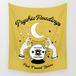 Psychic Readings Sign Wall Tapestry