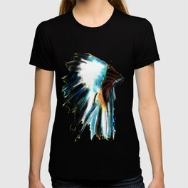 Indian Headdress Native America Illustration T-shirt