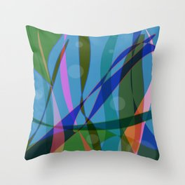 Abstract #355 Throw Pillow