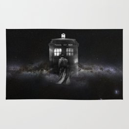 TARDIS DOCTOR WHO SPACE Rug