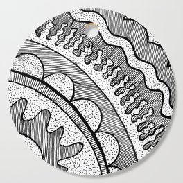 Lines & Dots Cutting Board