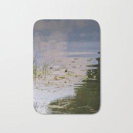Impressionist Florida Lake View Bath Mat