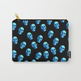 Pattern Skulls Carry-All Pouch