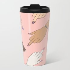 Worldwide Babes Metal Travel Mug