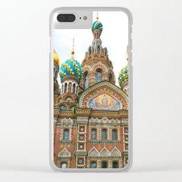 St Petersburg Russia Church Clear iPhone Case