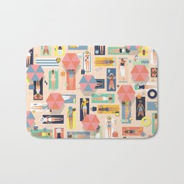 Summertime Bath Mat
