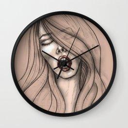 Nympho Wall Clock
