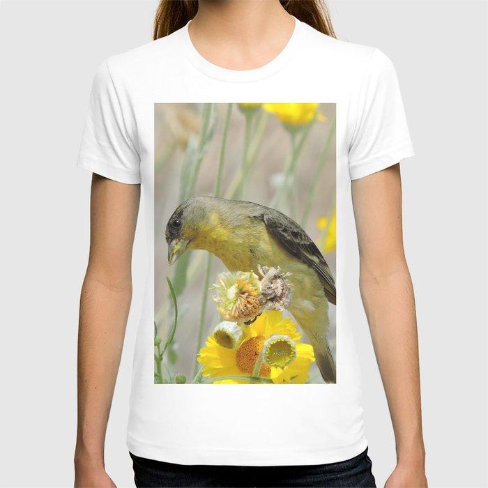 Feasting Finch T-shirt