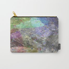 Abstract 7 SPECKLED VOID Carry-All Pouch