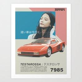 Testarossa Art Print