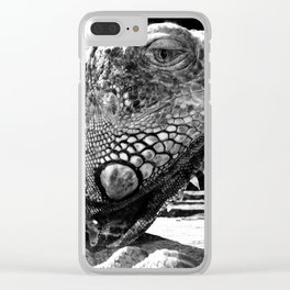 Armoured without a Care Clear iPhone Case