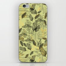 Seamless Blossom Pattern iPhone & iPod Skin