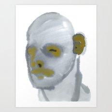 grey scale Art Print