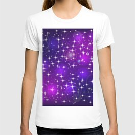 Sun rays and light effects. T-shirt