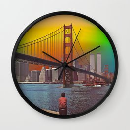 Somewhere Out There Wall Clock