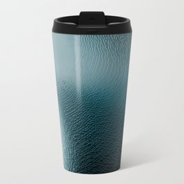 Abstract surface texture cave intricate pattern ice light illustration geometric painting Travel Mug
