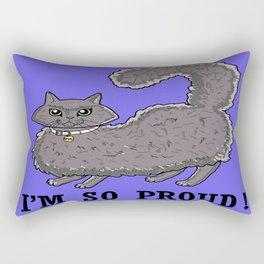 Proud cat Rectangular Pillow