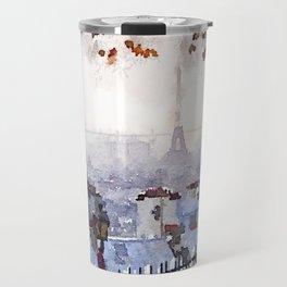 Rainy Day in Paris. Travel Mug