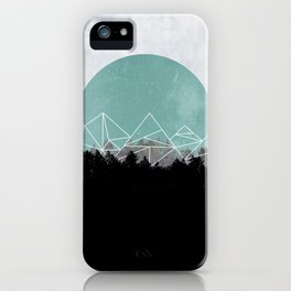 Woods Abstract 2 iPhone Case