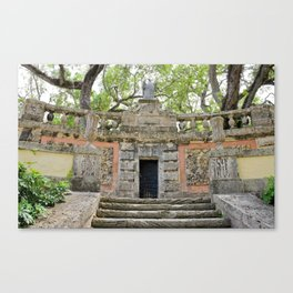 Vizcaya : Secret Coral Gardens Canvas Print