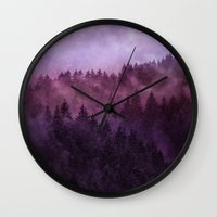 river Wall Clocks featuring Excuse me, I'm lost // Laid Back Edit by Tordis Kayma