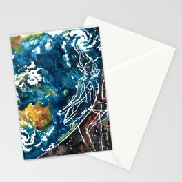 Mother Earth and Father Sky Make Love Stationery Cards
