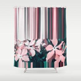 glitch Shower Curtain