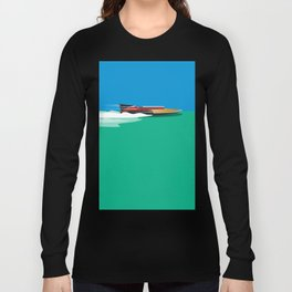 Liquid Sky Long Sleeve T-shirt
