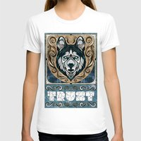 andreas preis T-shirts featuring Trust by Andreas Preis