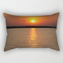 Sunset, DeGray Lake, Arkansas Rectangular Pillow