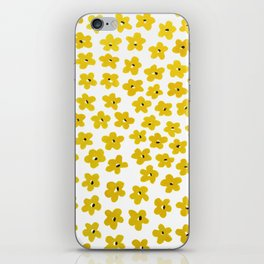 Yellow Pansies iPhone Skin
