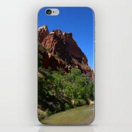 Along The Virgin River iPhone Skin