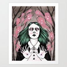 summoning spirits Art Print