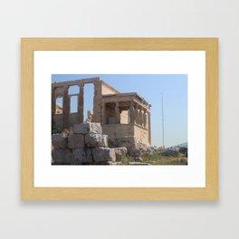 Caryatids (photo) Framed Art Print