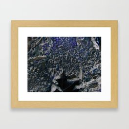 Black Velvet Framed Art Print